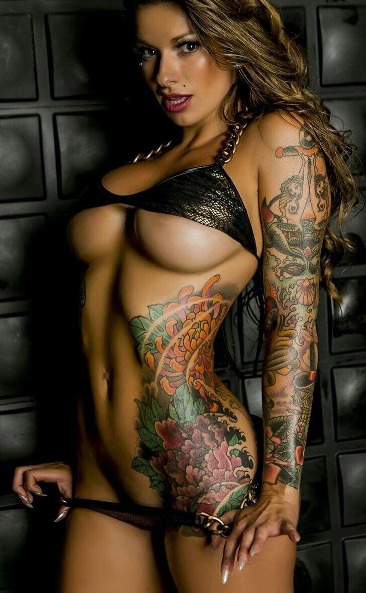 Naked Tattoo Babes