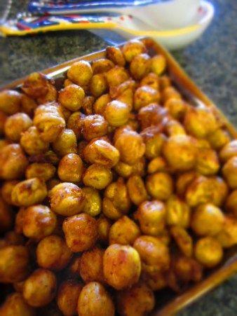 Crunchy Chickpeas! Yummy!