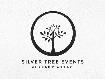"""Silver Tree Events"" Logo"