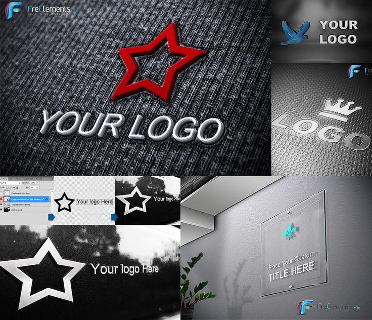 6 FREE LOGO MOCKUP PACK + Video Tutorial by hakeryk2.deviantart.com on @deviantART