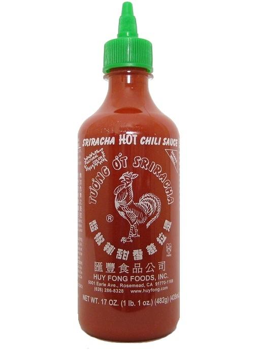 "Fong Sriracha Hot Chili Sauce is THE original Sriracha ""rooster sauce ..."