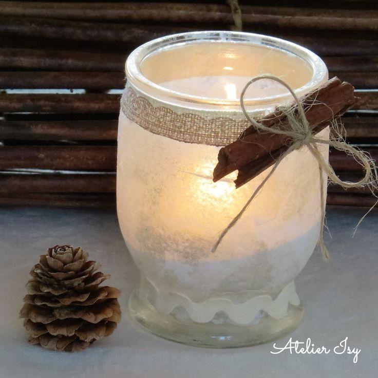 romantico porta lumino  romantic candle holder