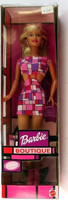 2000 European BARBIE Boutique Mondrain Style MIB! Mattel