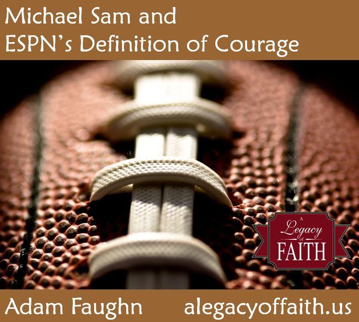 Michael Sam & ESPN's Definition of Courage
