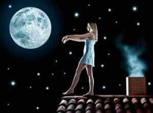 Болезнь лунатизм заставляет лунатиков совершать чудеса эквилибристики