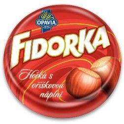 Fidorka Dark Chocolate with Hazelnut - 30g