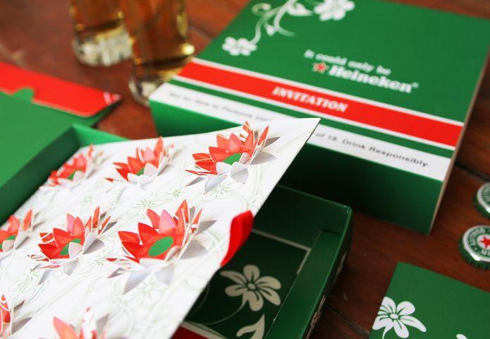 Heineken Invite | Graphic Design and Websites in South Africa | Malossol