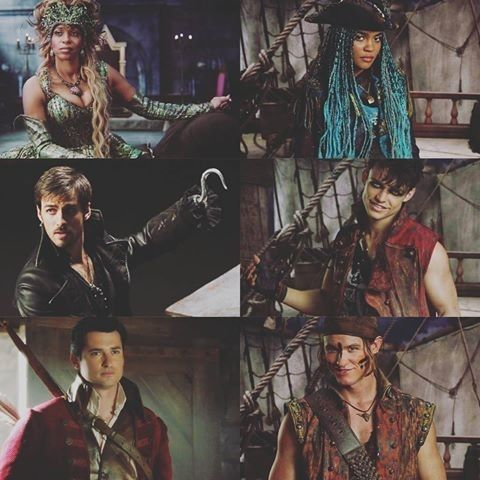 """VKs and their """"parents"""" from Once upon a time"""