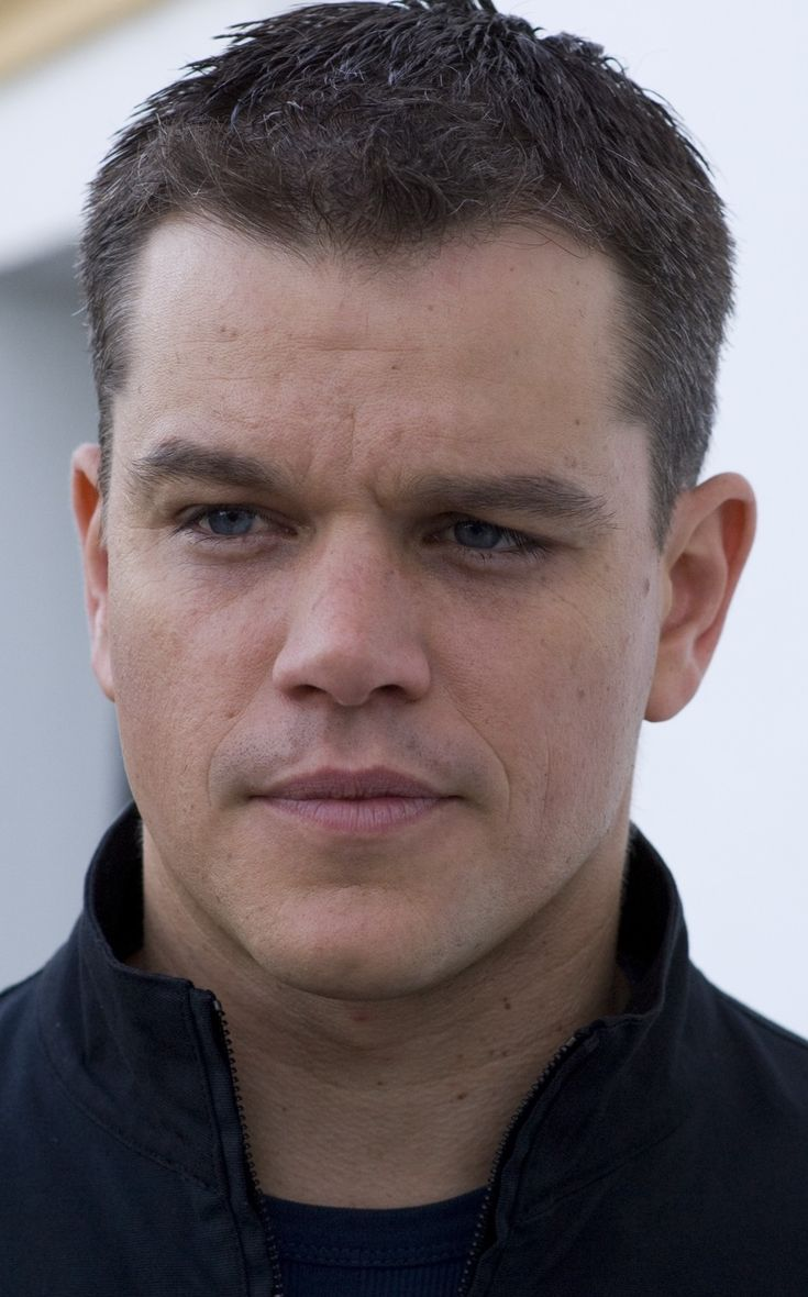 Matt Damon I love him in Bourne Identity!