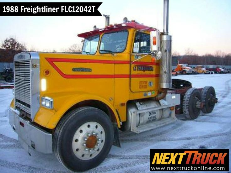 #ThrowbackThursday Check out this 1988 #Freightliner FLC12042T Day Cab. View more Freightliner #Trucks at http://www.nexttruckonline.com/trucks-for-sale/by-make/Freightliner #Trucking #NextTruck
