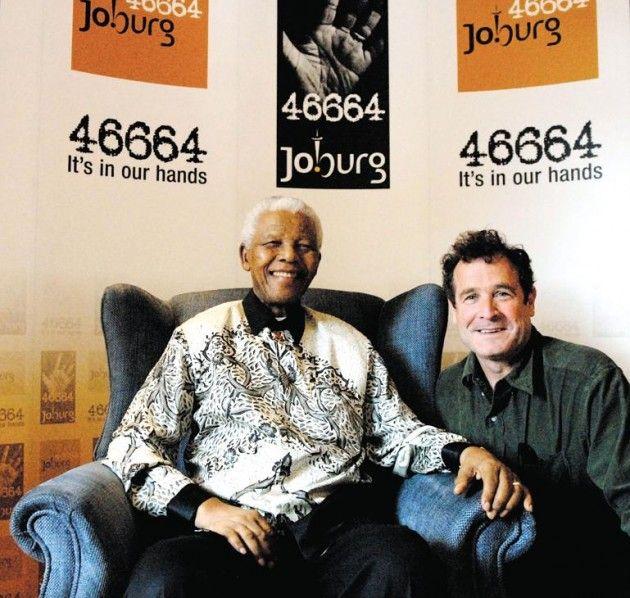 Johnny Clegg and Savuka   Nelson Mandela and Johnny Clegg