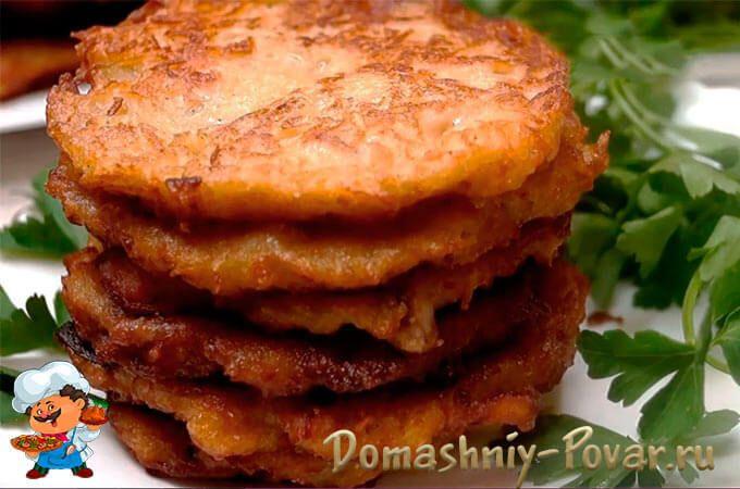 Драники из картошки рецепт с фото пошагово на сковороде ...