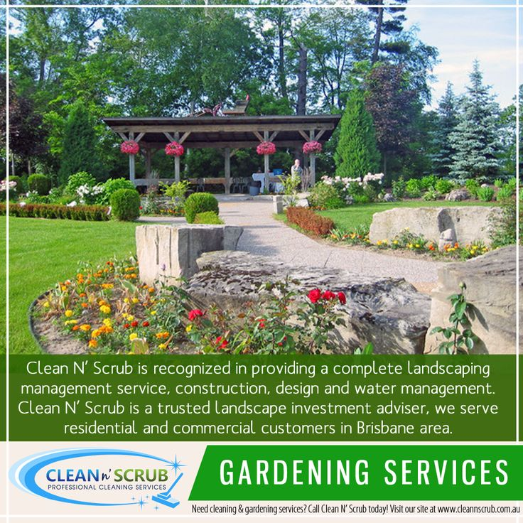 Clean N' Scrub is recognized in providing a complete landscaping management service, construction, design and water management. Clean N' Scrub is a trusted landscape investment adviser, we serve residential and commercial customers in Brisbane area.  Visit our website at http://CleanNScrub.com.au/ to view our services.  You can book a FREE quote for our services by sending us an email to booking@cleannscrub.com.au or contact us on Skype CLEANNSCRUB or phone (07) 3040 3003. #gardening #garden