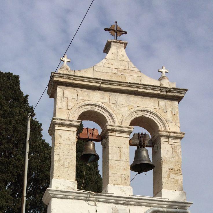 Bellfry at Fodele, Crete