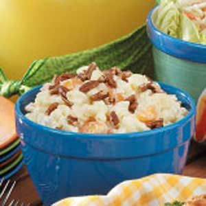 Fruited Macaroni Salad Recipe - it's a little odd, but not bad.