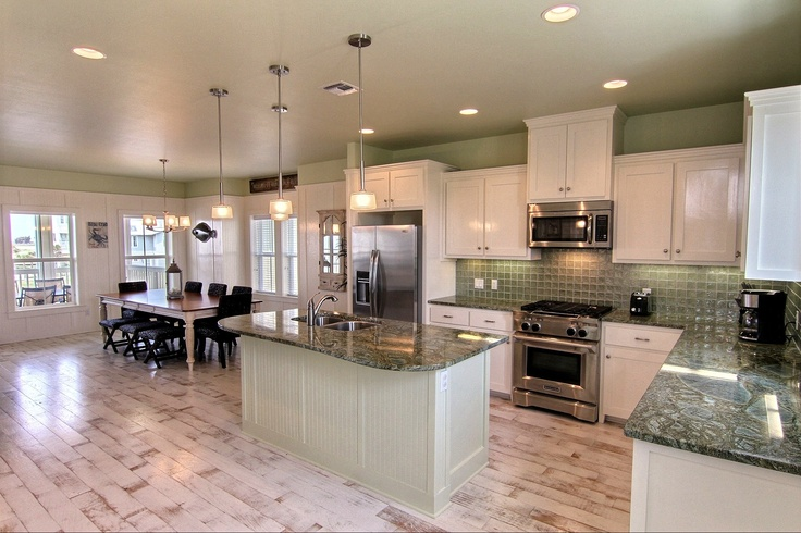 Another shot of this fabulous kitchen in coastal hideaway for Fabulous kitchens