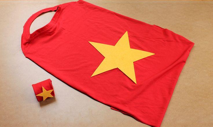 Easy craft: How to make a no-sew T-shirt cape