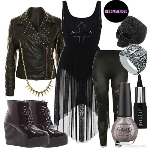 New Year's Goth | Women's Outfit | ASOS Fashion Finder