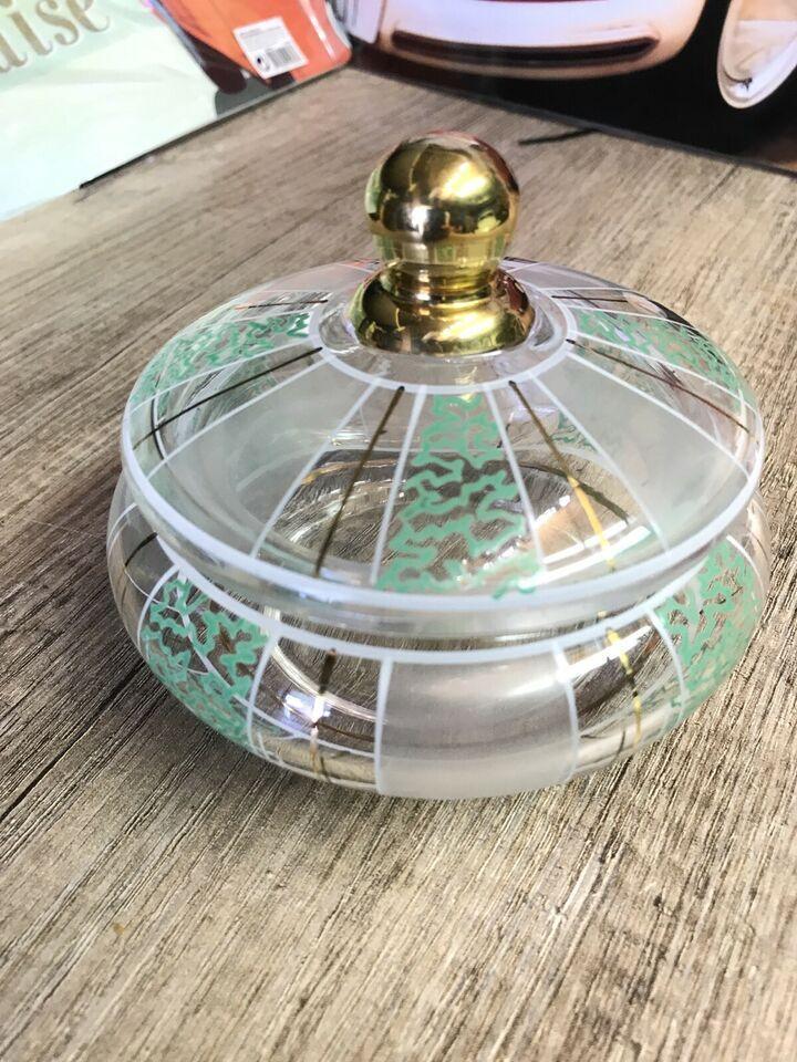 bonboniere schale glas vintage bonbon 60er 50er 70er must have