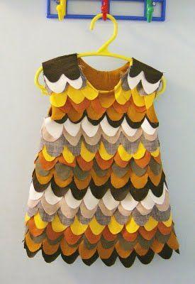 Llevo el invierno ♥: ♥ m.a.k.e. Disfraz Búho vestido