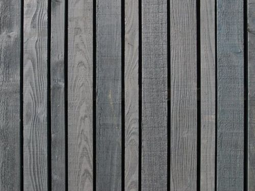 upinteriors: Black stained vertical boards. Erf Overmeen by...
