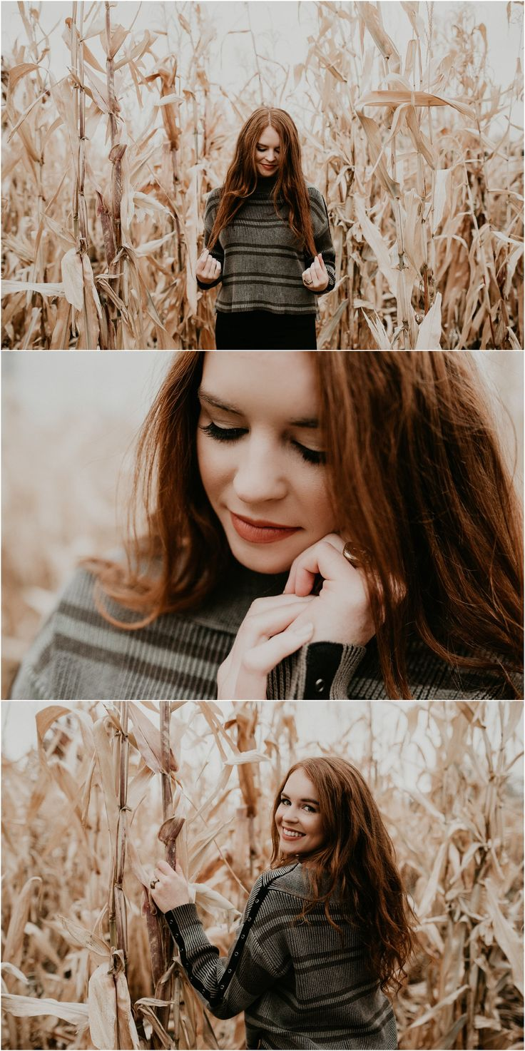 Boise Senior Photographer // Makayla Madden Photography // Eagle High Senior // Fall Senior Pics // Fall Senior Picture Outfit and Location Ideas and Inspiration // Urban Senior Pictures // Senior Photography // Corn Field Senior Pictures //