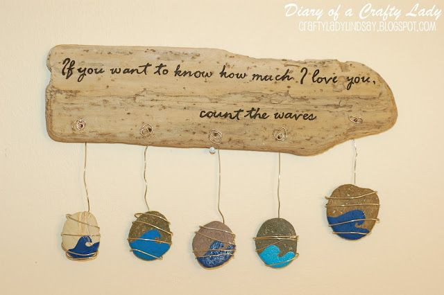 24 best images about driftwood crafts on pinterest wind for Wood plaques for crafts