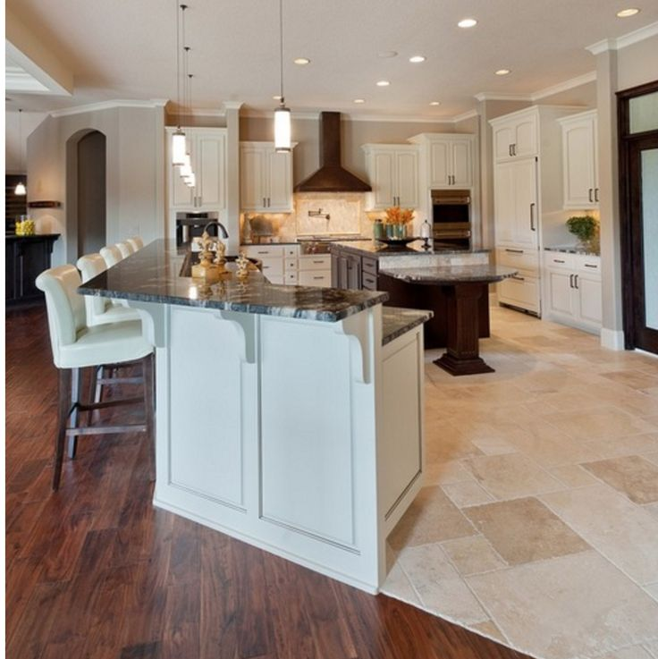 Kitchen Floor Transitions: 51 Best Creative Flooring Transitions Between Rooms Images