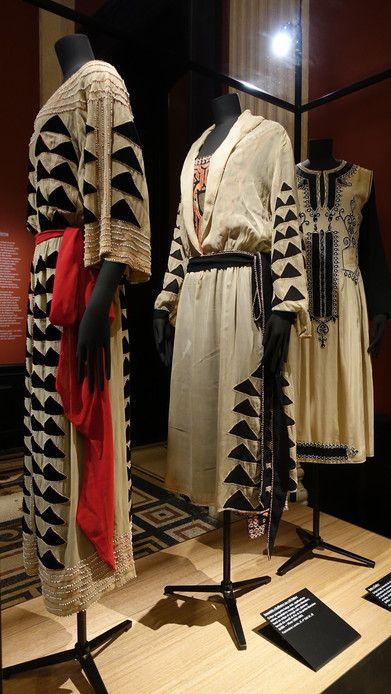 Jeanne Lanvin à Galiiera : plusieurs robes datées des années 20