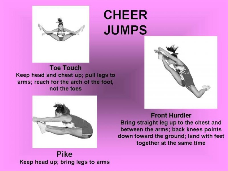 Best 25+ Cheer Jumps Ideas On Pinterest | Cheerleading Jumps