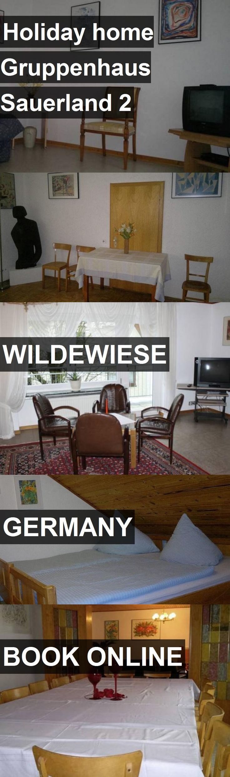 Hotel Holiday home Gruppenhaus Sauerland 2 in Wildewiese, Germany. For more information, photos, reviews and best prices please follow the link. #Germany #Wildewiese #HolidayhomeGruppenhausSauerland2 #hotel #travel #vacation
