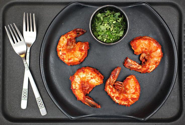 Recipe: Tomato-Cilantro Shrimp