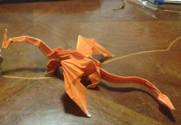 Master The Origami Dragon In A Few Simple Steps! | 478x691