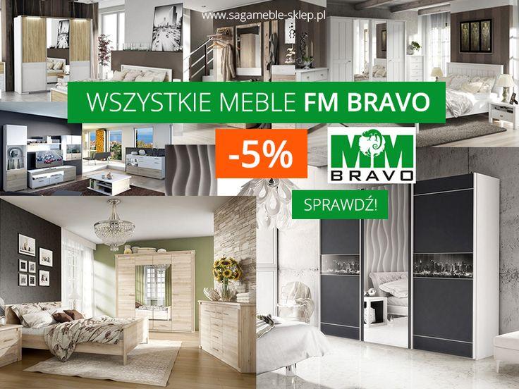 Oficjalnie informujemy - ceny wszystkich produktów firmy FM Bravo obniżyliśmy o 5%!  http://sagameble-sklep.pl/content/5-promocje