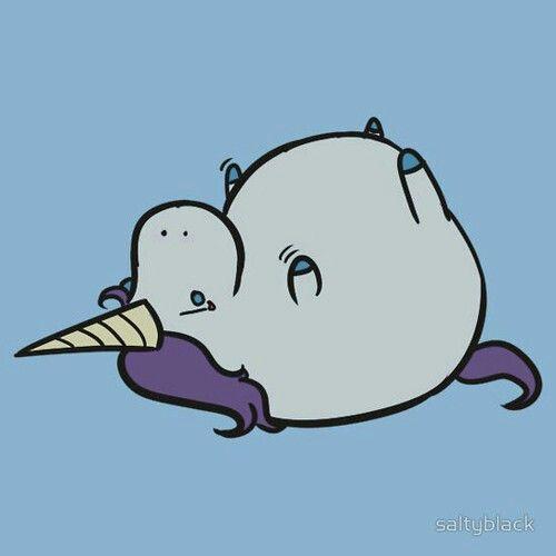 Piccoli unicorni obesi