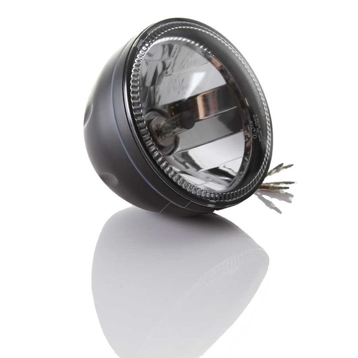 "Triumph Motorcycle 5 3/4"" Halo Ring Style Headlight"
