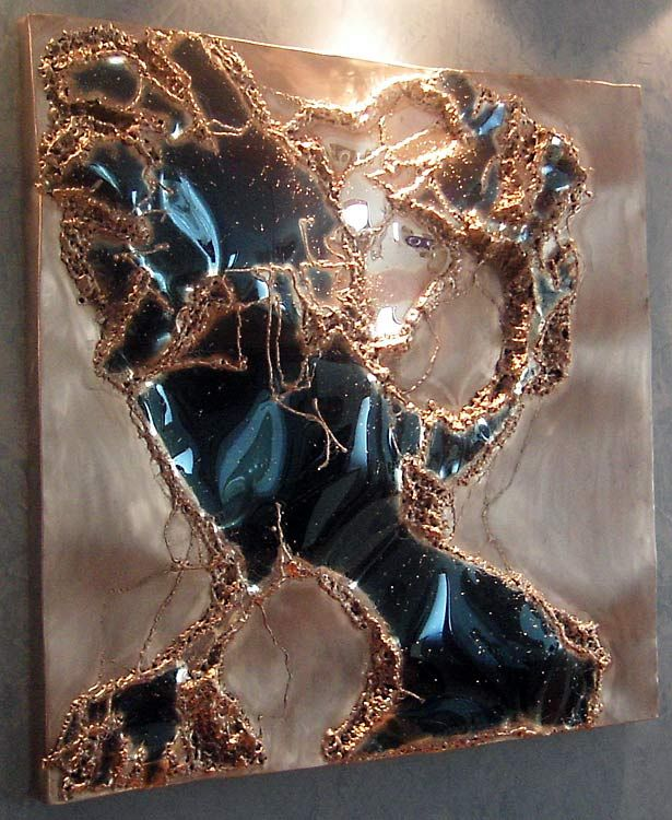 inspiration 2003 polished stainless steel art by on metal wall art id=34427