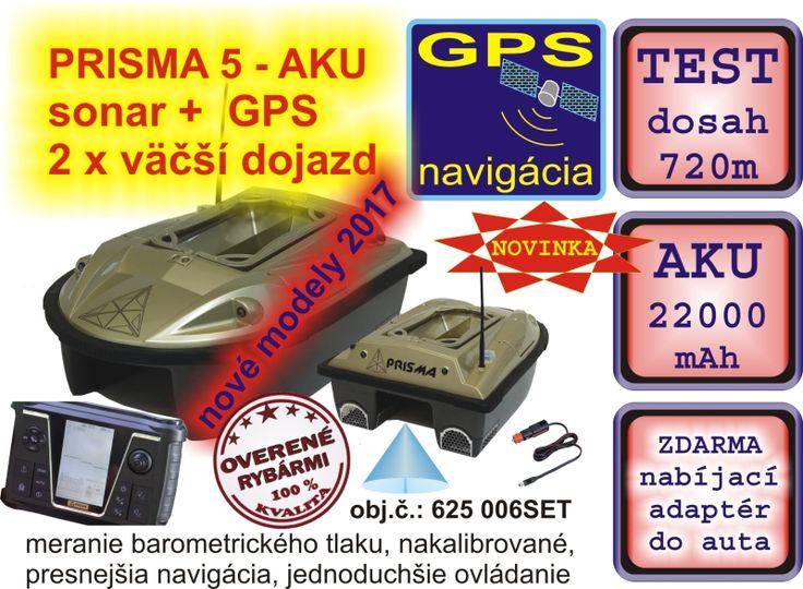 OD 10. MARCA ZNOVU NA SKLADE: Jediná loďka so sonarom a GPS kde kapacita aku je 22 000mAh - 2 X taký dojazd! Už nikdy žiadne čakanie na nabíjanie akumulátorov. Už nikdy vybité baterie. S loďkou PRISMA 5 môžete vyvážať, kŕmiť takmer neobmedzene dlho. Pri testoch dosah viac ako 700m!