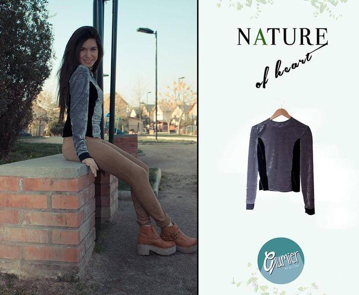Glumier - Nature of Heart  #Polera #Terciopelo #Tendencia #Moda #Mujer #Chile #Venta #Glumier  http://www.facebook.com/Glumier