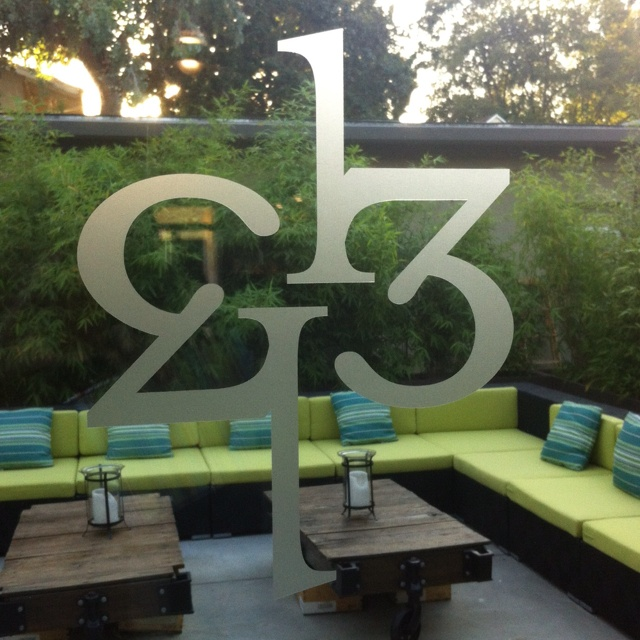 Patio at 1313 Main, downtown Napa. Wine centric. Late night. http://1313main.com/index.html