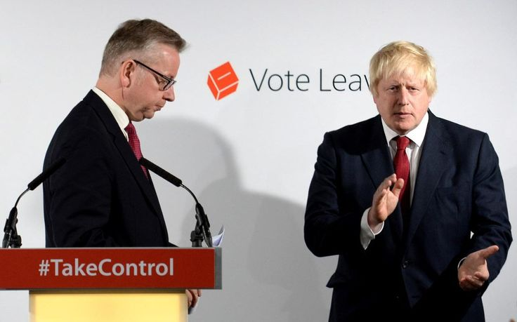 """Boris Johnson's allies have accused Michael Gove of a """"calculated plot"""" to destroy the former London mayor's hopes of becoming Conservative leader by stealing his support in an act of """"midnight treachery""""."""