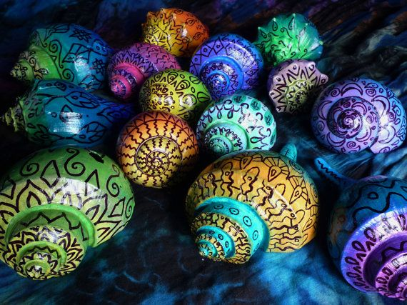 Sea Shell Mandala- Meditation, Reiki, Ocean Home Decor, Litha, Solstice, Fire and Water, Throat Chaka, Solar Plexus