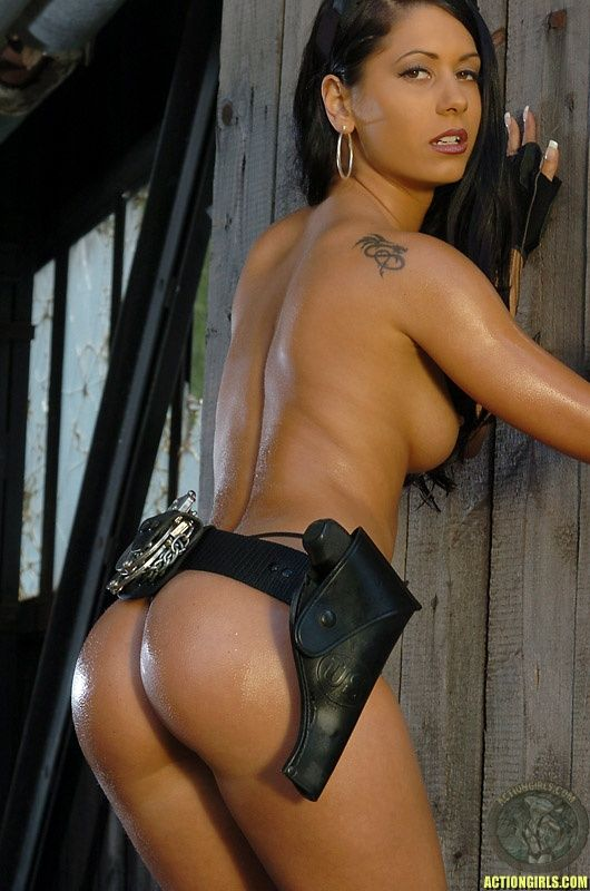 holsters and nude women
