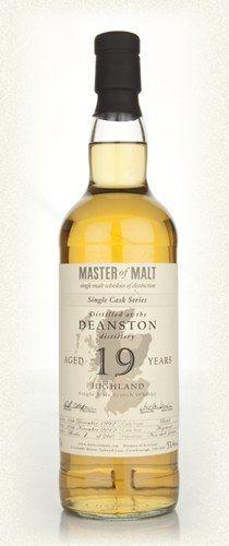 deanstonディーンストン 南ハイランド ディーンストン蒸留所1965創業他にオールドブラックバーン、ディーンストンミルを発売  甘くドライでレンゲの蜂蜜のにおい