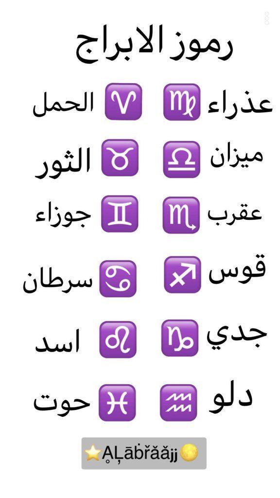 رموز الابراج Mood Quotes Talking Quotes Funny Arabic Quotes