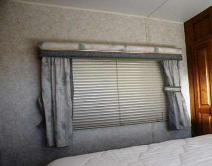 Cellular RV window blinds make a Great RV Remodel Improvement to your RV