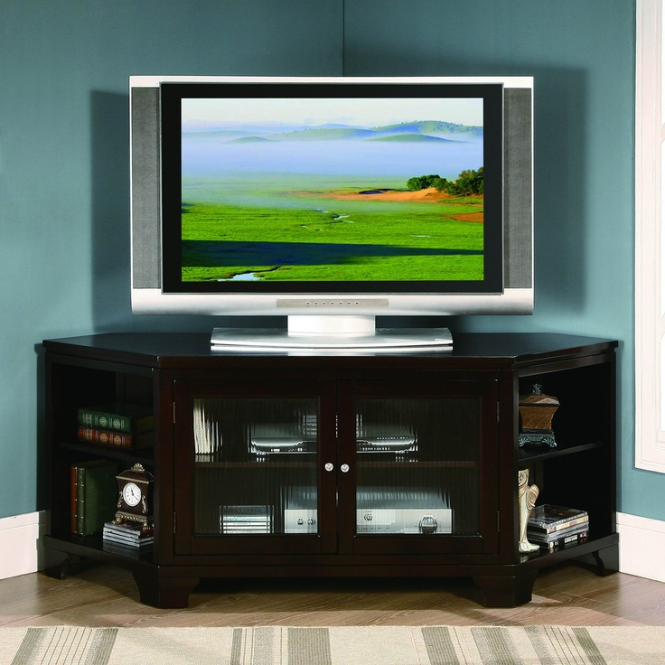 17 best TV stands images on Pinterest Corner tv stands Corner tv