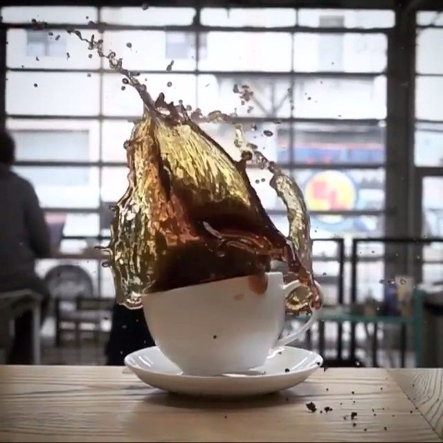 Oh No!  Donut Meets Coffee  Slow Motion Edit ▶️ Tag A Friend ✌️ For More Follow: @art_extremes By: @cityofsaintscoffee #art #artist #artistic #creative #slowmotion #movie #filmedit #videoedit #coffee #donut #creativity