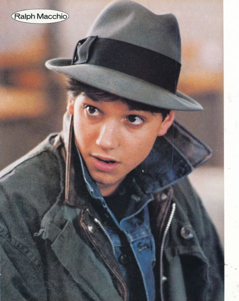 Ralph Macchio - I don't think I'll ever get over my crush on him in his teen years