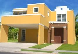 Resultado de imagem para fachada de casas coloridas